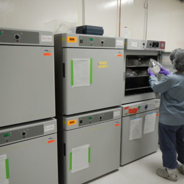Multiple Incubators inside Biosafety Level 3